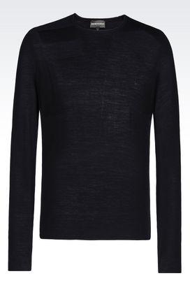 Armani Crewneck sweaters Men wool sweater
