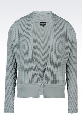 Armani Cardigans Women cotton cardigan