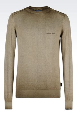Armani Crewneck sweaters Men cotton jumper