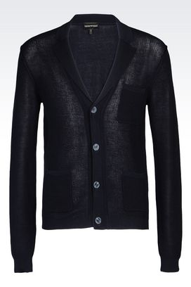 Armani Cardigans Men cotton cardigan
