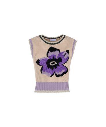 REDValentino KR0KM00Q2DF 191 Knit Sweater Woman a