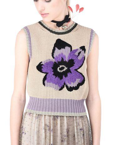 REDValentino KR0KM00Q2DF 191 Knit Sweater Woman d
