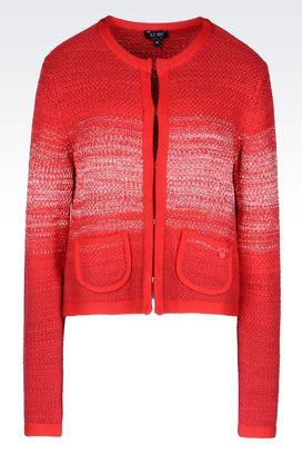 Armani Cardigans Für sie jacke aus strick