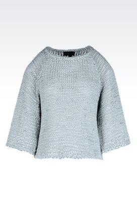 Armani Crewneck sweaters Women raglan sleeve sweater