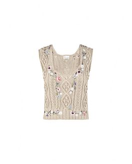 REDValentino KR0KM0142CT 191 Knit Sweater Woman a