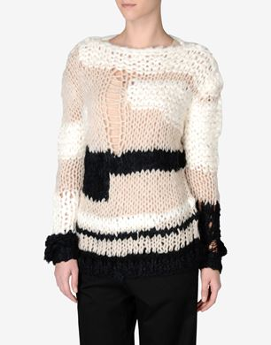 Maison Margiela Loose-stitched jumper