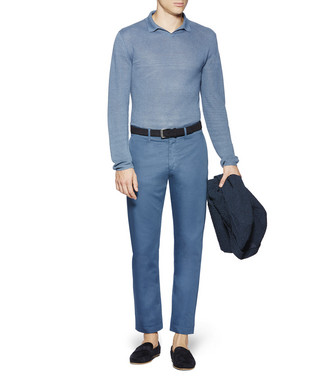 ERMENEGILDO ZEGNA: Polo-Neck Grey - 39627765EU