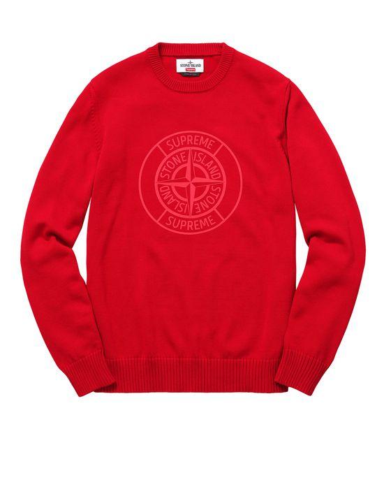 98e708f7cf6d Crewneck sweater 501S7 COMPASS PIN SWEATER IN PIMA COTTON br STONE ISLAND  FOR SUPREME
