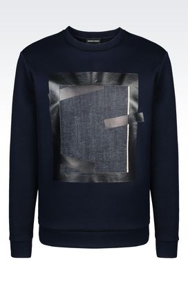 Armani Sweatshirts Men cotton sweatshirt