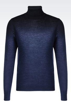 Armani High neck sweaters Men knitwear
