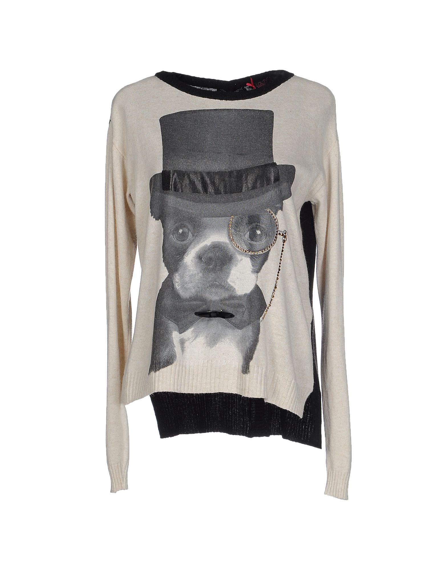 LOLITAS & L Damen Pullover Farbe Weiß Größe 6
