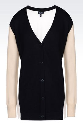 Armani Cardigans Women cardigan in wool
