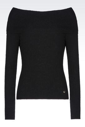 Armani Pullover mit Rundkragen Für sie pullover