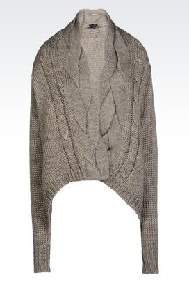 Armani Cardigans Women cardigan in wool blend