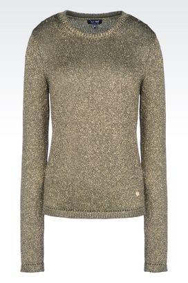 Armani Pullover mit Rundkragen Für sie lurex®-pullover