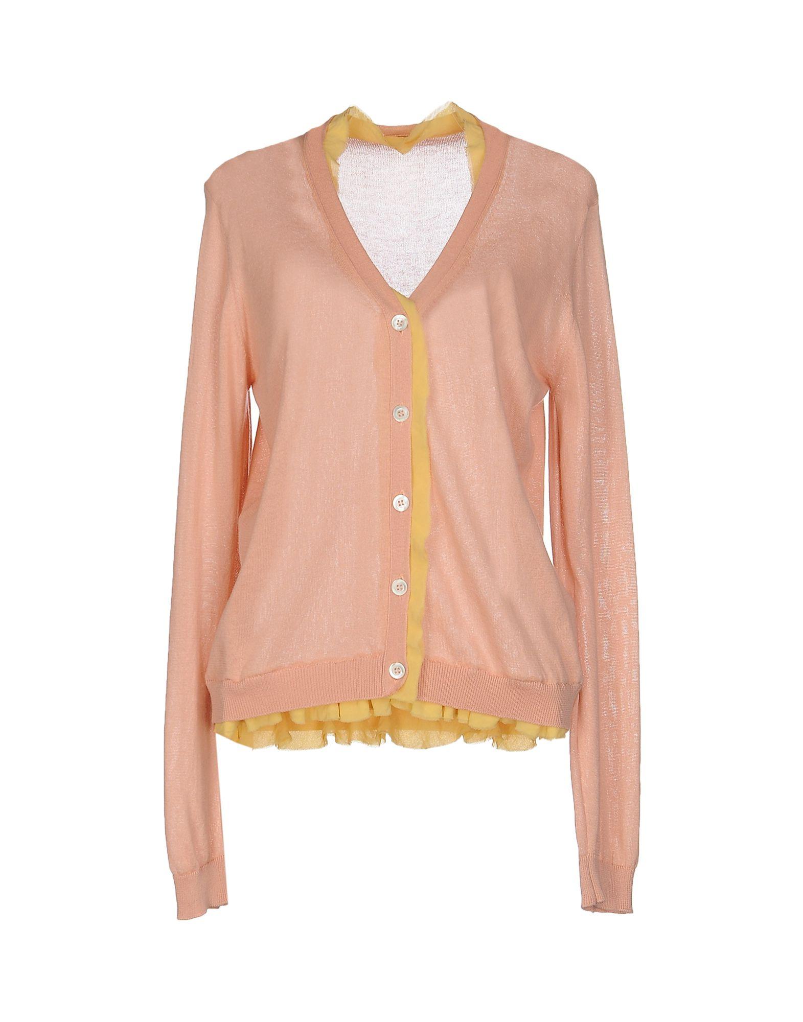 GOLD CASE Damen Strickjacke Farbe Rosa Größe 6