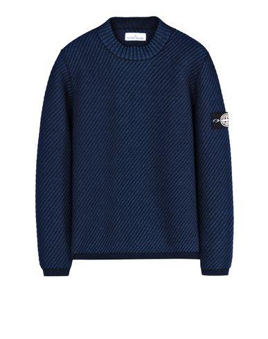 STONE ISLAND Crewneck sweater 592A4 POLYPROPYLENE INDIGO KNIT