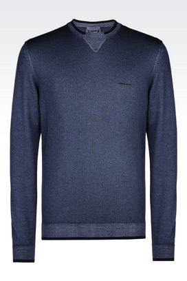 Armani Crewneck sweaters Men knitwear