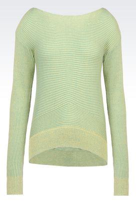 Armani Crewneck sweaters Women sweater in wool blend