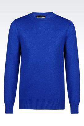 Armani Crewneck sweaters Men cashmere sweater