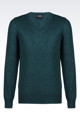 Armani V  neck sweaters Men cashmere sweater