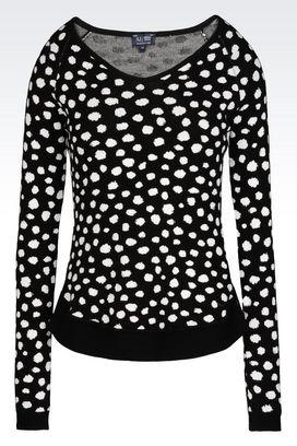 Armani V  neck sweaters Women sweater in viscose