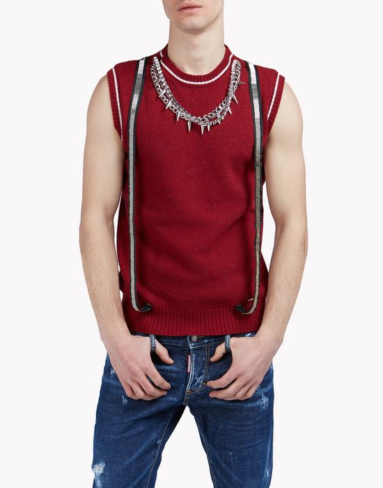 pullover vest top wear Man Dsquared2