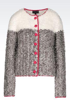 Armani Cardigans Women colour block cardigan