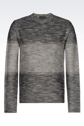 Armani Crewneck sweaters Men sweater in cashmere wool