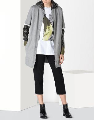 Sweatshirt  with detachable sleeves