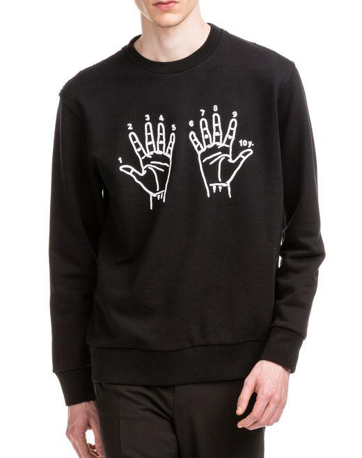 """lanvin """"10 years"""" sweatshirt men"""