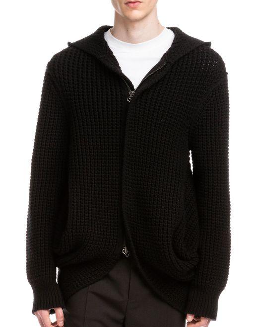 lanvin zipped sweater men