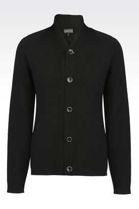 Armani Cardigans Men cardigan in wool blend