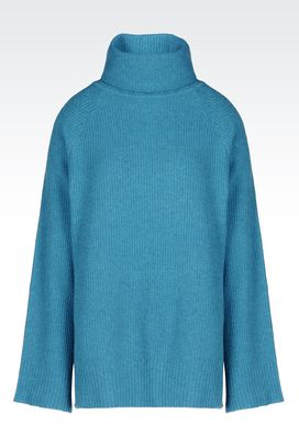 Armani High neck sweaters Women sweater in cashmere wool