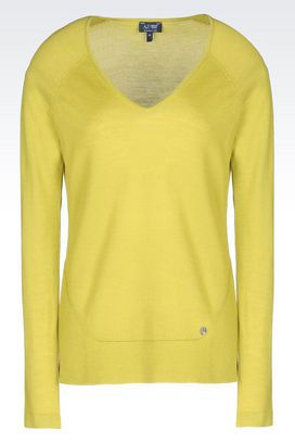 Armani V  neck sweaters Women wool sweater