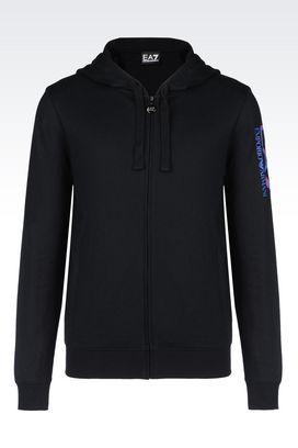 Armani Hooded sweatshirts Men sweatshirts
