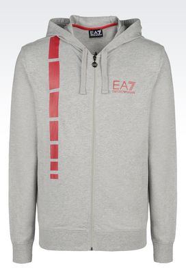 Armani Zip sweatshirts Men sweatshirts