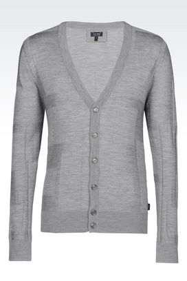 Armani Cardigans Men cardigan in wool