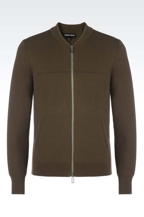 OFFICIAL STORE EMPORIO ARMANI - Maille - Cardigans on armani.com