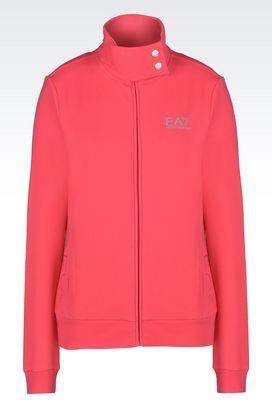 Armani Zip sweatshirts Women 7lines full zip sweatshirt