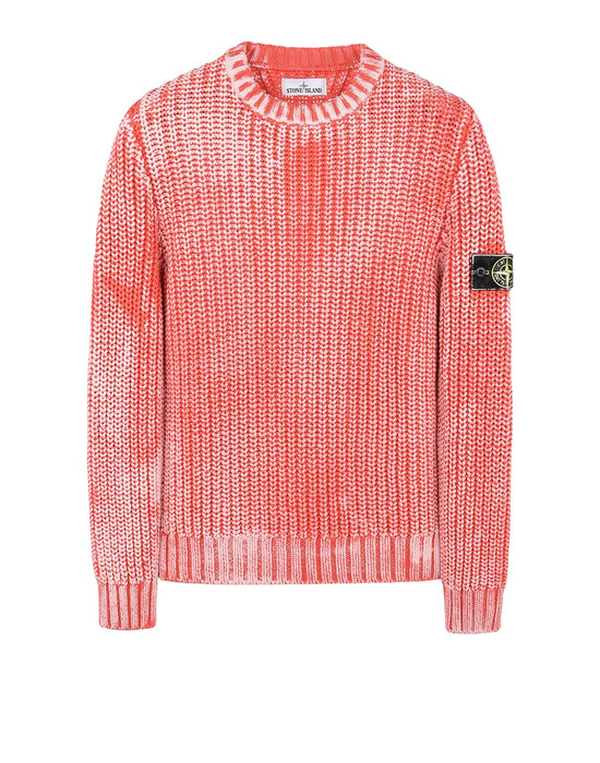 STONE ISLAND Crewneck sweater 541A1 HAND CORROSION