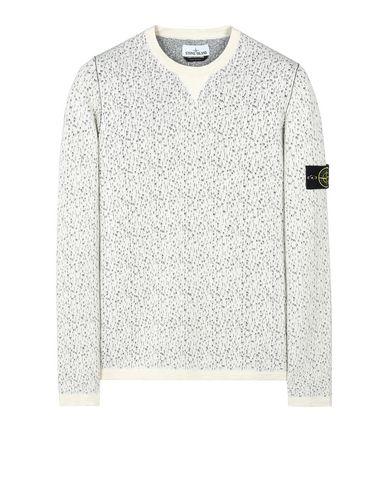 STONE ISLAND Crewneck sweater 518B4 REVERSIBLE KNIT