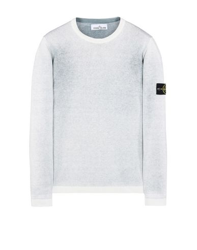 STONE ISLAND Crewneck sweater 544A8 REVERSIBLE KNIT