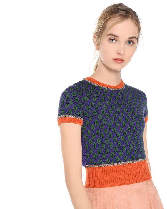 REDValentino MR3KC06G2TY 817 Knit Sweater Woman e