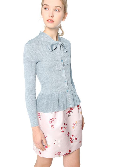 REDValentino MR3KA0B52U8 868 Cardigan Woman e