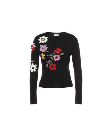 REDValentino MR3KC0Q42UM 0NO Knit Sweater Woman a