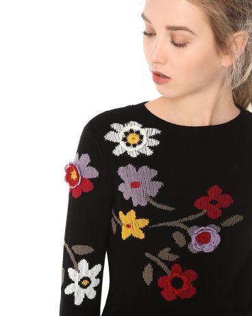 REDValentino MR3KC0Q42UM 0NO Knit Sweater Woman d