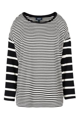 Armani Crewneck sweaters Women long sleeve striped jersey sweater