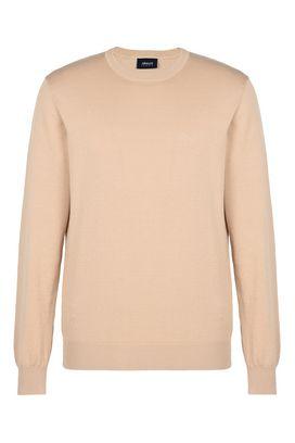 Armani Crewneck sweaters Men 100% cotton crew neck sweater
