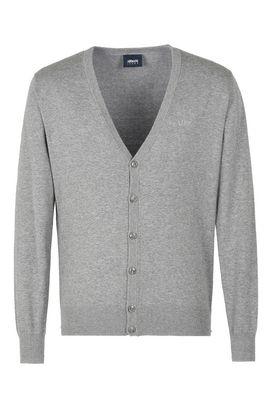 Armani Cardigans Men plain knit v-neck cardigan